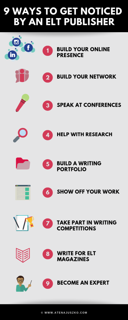 how to become an ELT writer