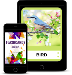 Spring Flashcards ELT Canva Atena Juszko