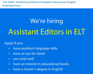 LinedIn jobs publishing freelance writer editor