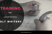 Training for ELT writers courses