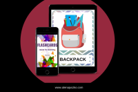 Back to school flashcards Atena Juszko