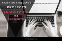 Tracking freelance projects invoices